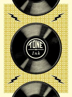 All sizes | Rock poster from Tone Ink | Flickr - Photo Sharing! #rock #design #graphic #poster