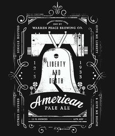 Warren Peace American Pale Ale #beer #poster