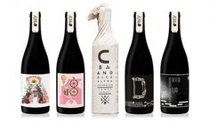 MASH - PURVEYORS OF THE FINE - ART DIRECTION & DESIGN - Alpha Box & Dice #packaging #design #graphic #wine #illustration #typography