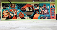 The Weird Travels Pt.3 / Walls & Paintings 2013 on Behance #dxtr