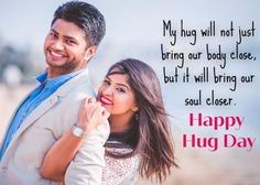 Happy Hug Day Wishes for boyfriend