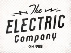 FFFFOUND! | Dribbble - Electric Company by Simon Walker #logo #typograhy