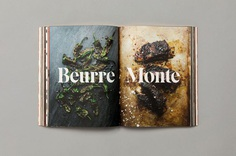 Cookbook #dps #publication #layout #editorial #photographic #book #serif #bigtype
