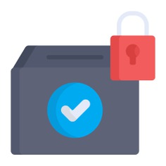 See more icon inspiration related to vote, lock, document, vase, elections, votes, election, check mark, padlock, archive, communications, box and file on Flaticon.