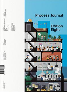 Process Journal (Melbourne, Australie / Australia) #graphic design #magazine #editorial design #magazine cover