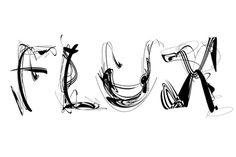 Flux #font #typography #illustration #type #ecuador