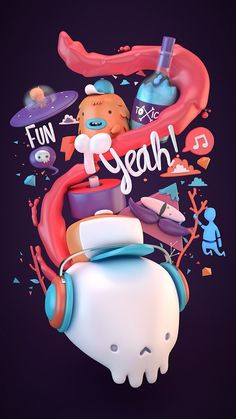 FunYeah! #inspiration #digital #character #art