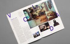 Snitt Magazine   Gridness #diagramation #design #offline #grid #magazine #typography