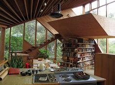 Walstrom House by John Lautner #lautner #john #architecture #mid #century