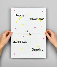 Christmas card #poster #graphic #christmas #maddison