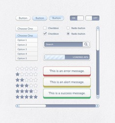 Creative user interfacer with blue buttons Free Psd. See more inspiration related to Menu, Star, Box, Blue, Button, Web, Check, Creative, Radio, Elements, Search, Ui, Drop, User, Buttons, Gray, Psd, Loading, Simple, Web elements, Web button, Material, Rating, Down, Search box, Ui elements, Push, Vertical, Radio button, Star rating, Scrollbar, Push button, Drop down menu and Check button on Freepik.