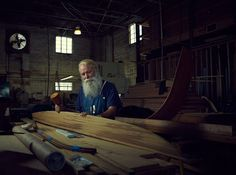 An Ongoing Portrait Series of Off-Season Santas by Mary Beth Koeth
