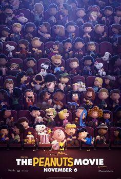 The Peanuts Movie #snoopy #movie #cinema #3d #animation