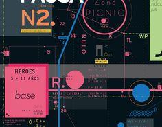 Cartografía Parque Chacabuco on Behance #abstract #infographic #design #details #digital
