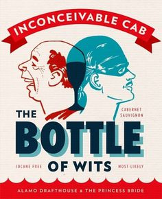 The Bottle of Wits | Lovely Package #packaging #print