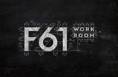 F61 Work Room logo design by F61