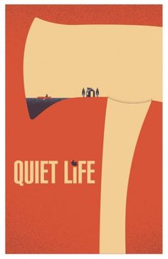 QUIET LIFE - Christopher Monro DeLorenzo #music #illustration #gig #poster