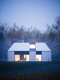 Tind - House and Interior Design by Peter Guthrie #interior #foggy #modern #guthrie #peter #architecture #winter
