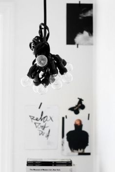 Sara Lindholm #interior #white #design #black #and