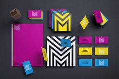 Mario Mlakar on Behance http://bit.ly/14tMiqf #youth #round #energy #color #geometric #simple #identity #film