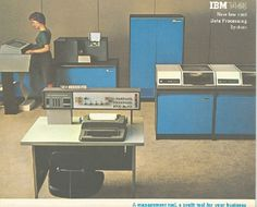 IBM 1440 New Low Cost Data Processing System | Computer History Museum #1960s #computers #brochures