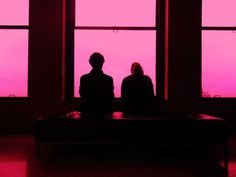 Nouvelle York 2010 on Behance #couple #wallb #pink #york #silhouettes #love #new