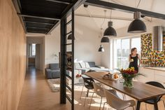 cozy loft #loft, #interiors, #design