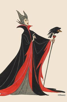 Early Maleficent character design