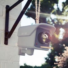 CCTV Birdhouse #tech #flow #gadget #gift #ideas #cool