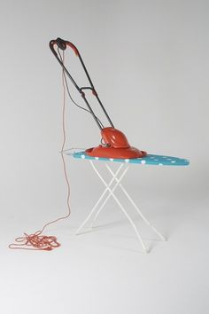 Ironing Board + Flymo : Daniel Eatock #photography