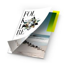 FOLKLORE MAGAZINE #folklore #geometry #surf #cover #photography #type #editorial #magazine