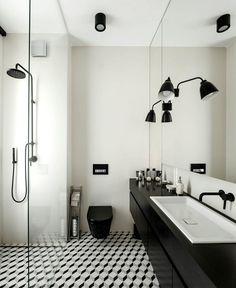 Between Madrid and Warsaw - InteriorZine #decor #interior #home #bathroom