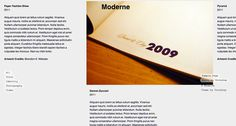 Moderne - Minimal Portfolio Theme for WordPress #portfolio #design #based #website #grid #photography #minimal #art #wordpress