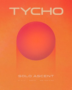 Tycho Music Poster created by Scott Hansen (ISO50)