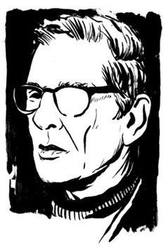 Spot Portraits - David Wilson Illustration #illustration #portrait #spot