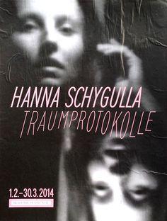 Poster Hanna Schygalla Traumprotokolle