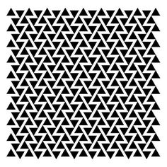 Every reform movement has a lunatic fringe #graphic #pattern #triangles