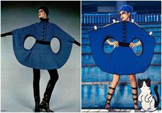 Ajax Lee Recreates Iconic Fashion Photographs With a Paper Props