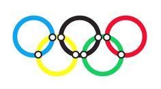 Richard-Rhodes-Olympic-Print-1.jpg (450×250) #olympic #rings #underground #print #tube