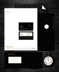 FFFFOUND! | Eight Hour Day » Manifest #logo #letterhead #branding #typography