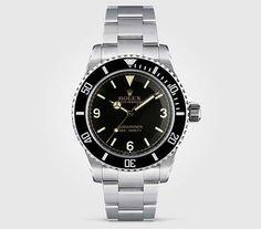 Tempus Machina 809H Rolex Submariner - #tempusmachina #809H #customwatch #details #gq #rolexsubmariner #style #rolex #handcrafted #vintagest