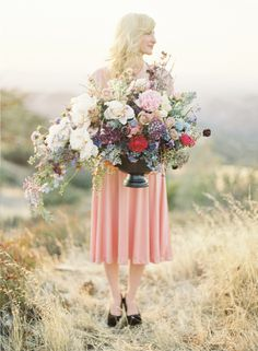 Event Design, Jose Villa, European Wedding Inspiration, Pastel Wedding #photography #wedding #flowers