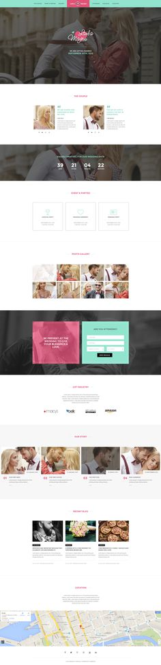 Brando #Responsive & #Multipurpose #OnePage #Template For #Wedding by #ThemeZaa http://goo.gl/VGP5GC