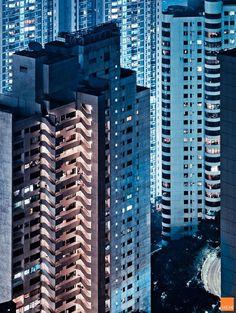 Hong Kong facades by Miemo Penttinen thumbnail_7 #art