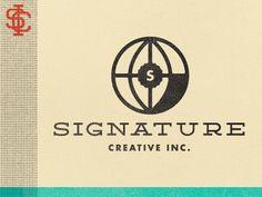 Dribbble - Signature Rebrand by Kyle Anthony Miller #illustration #vintage #logo