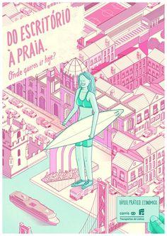 Onde queres ir hoje? Bronze - Young Lions 2014 Print - 2