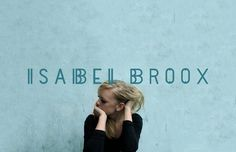 Isabel Broox Identity #girl #isabel #beuro #sea #identity #studio #blonde #blue #singer #broox