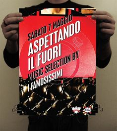 graphic design | Nicola Destefanis blog #print #alcinoo #poster