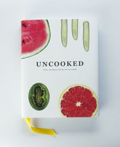 Recipe book | UNCOOKED on Behance #minimalist #cookbook #design #book #food #layout #editorial