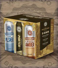 Waterloo Cans #packaging #beer #can #label